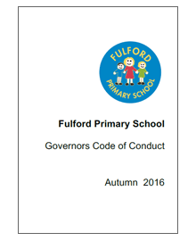 Fulford Primary School Governor Code of Conduct 16/17