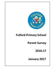 Fulford Primary School Parent Survey 2016